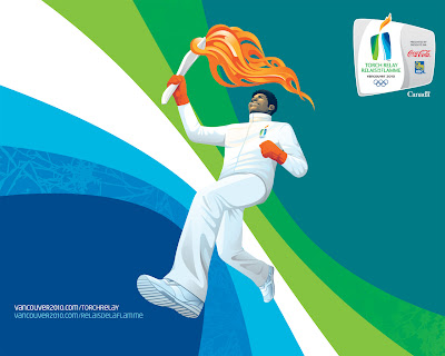 Free Vancouver 2010 Olympic Winter Games PowerPoint Background 37