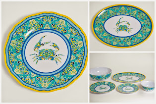 Charming New Outdoor Dinnerware!
