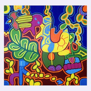 Polpy- omaggio ai muralisti messicani -T. Modotti, F. Kahlo,  D. Rivera