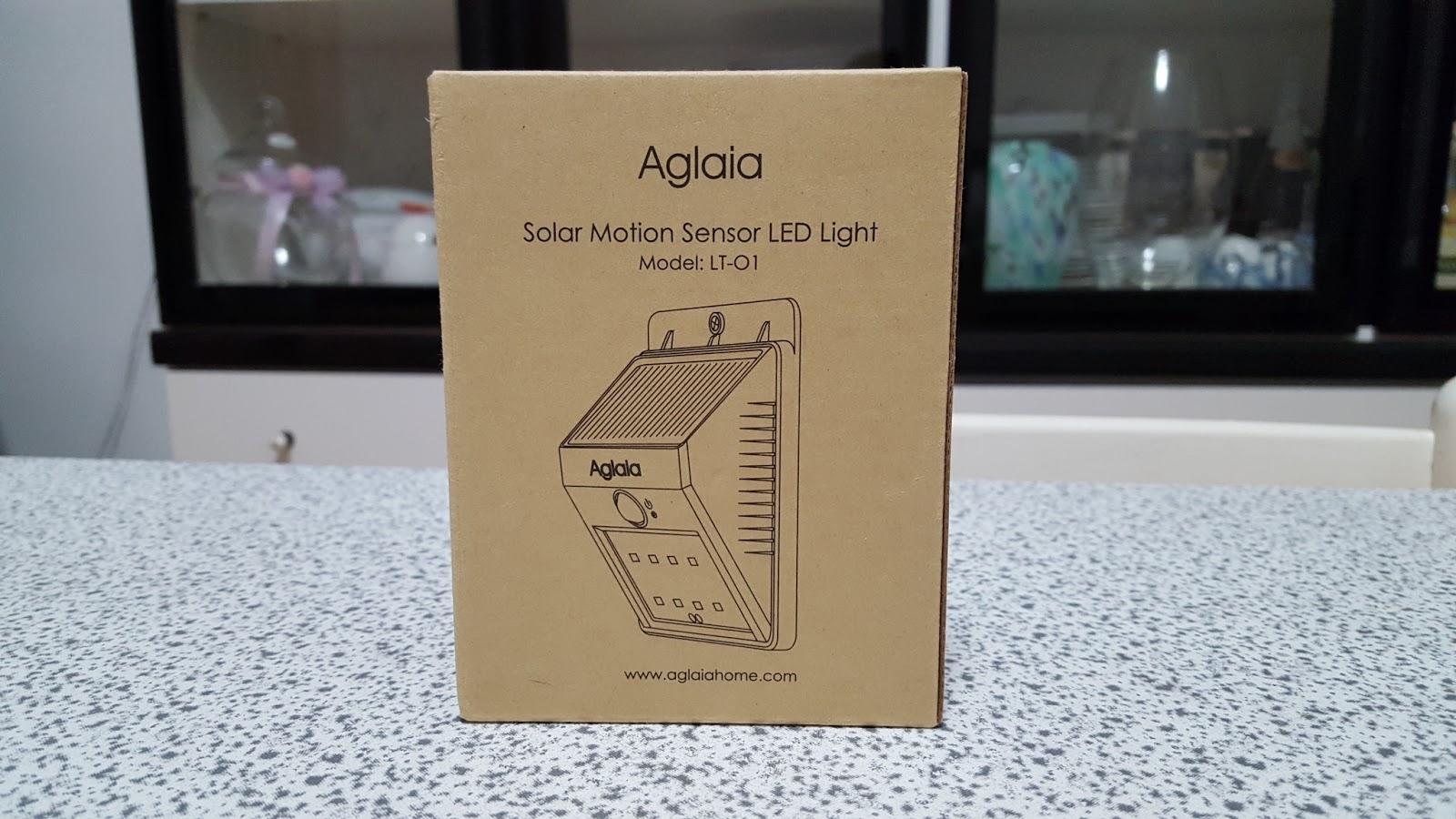 La pagina della tecnologia: recensione lampada led aglaia ad energia