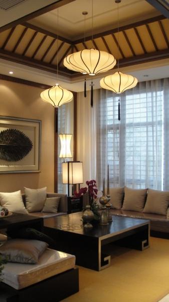 pendant lighting for living room