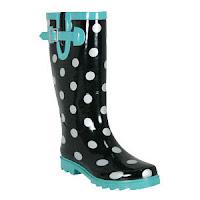 Rain Boots Polka Dots6