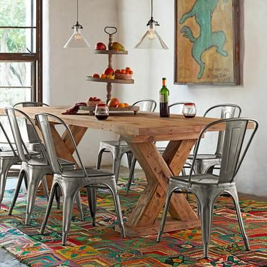 Sundance Catalog Sells Authentic Tolix Chairs In Steel Only For $245. But  If You Want The Real Deal In Every Color Of The Rainbow, Then Antiquaire Is  Worth ...