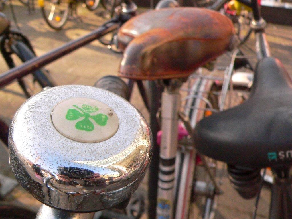 Klingel kleeblatt Fahrrad Köln Blogparade Rad radeln fietsen