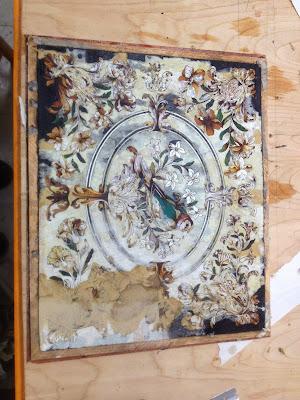Treasure Box - Series #2 - Post #20: Veneering the lid and preparing the bandings