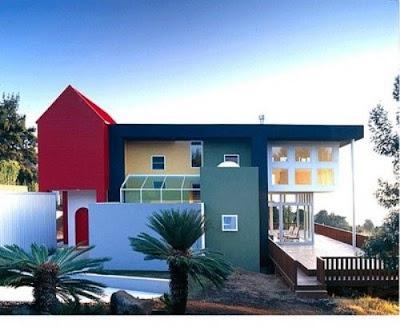 Tukang Taman Malang tentang 5 Desain Eksterior Rumah Minimalis Berantai Satu dan Dua