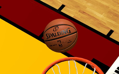 NBA 2K14 Realistic Spalding Ball Color Mod