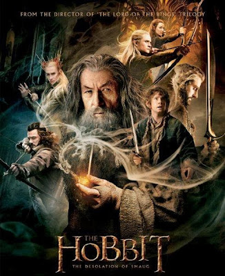 Poster Of Free Download The Hobbit The Desolation of Smaug 2013 300MB Full Movie Hindi Dubbed 720P Bluray HD HEVC Small Size Pc Movie Only At exp3rto.com