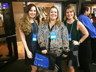 Professora e ex-alunas do UNIFESO Teresópolis participam de congresso de Neurologia