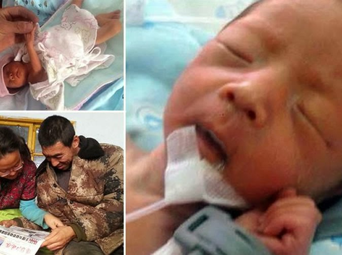 Premature Newborn Baby Survives Being Buried Alive