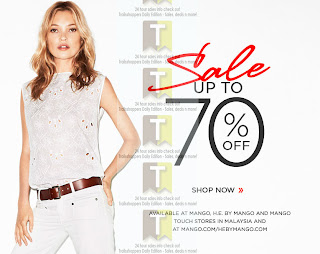 MANGO Malaysia further Discount Sale 2012