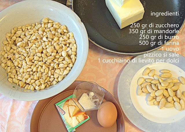 torta secca ingredienti