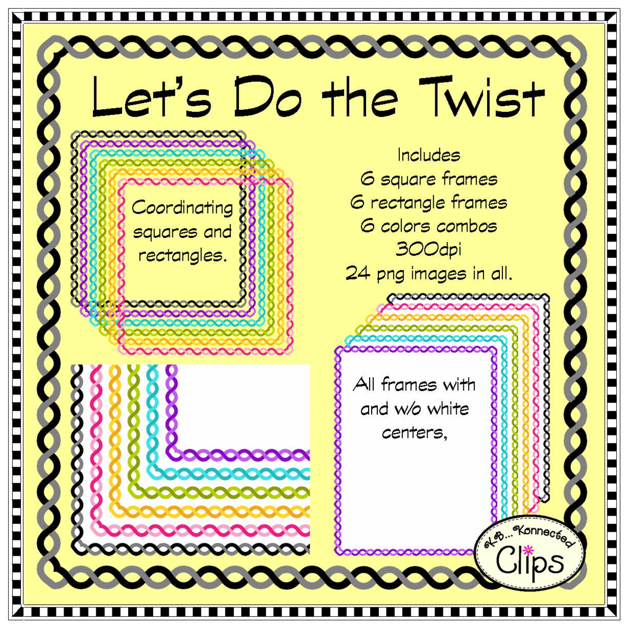 http://www.teacherspayteachers.com/Product/Lets-Do-the-Twist-Frame-Collection-1254407