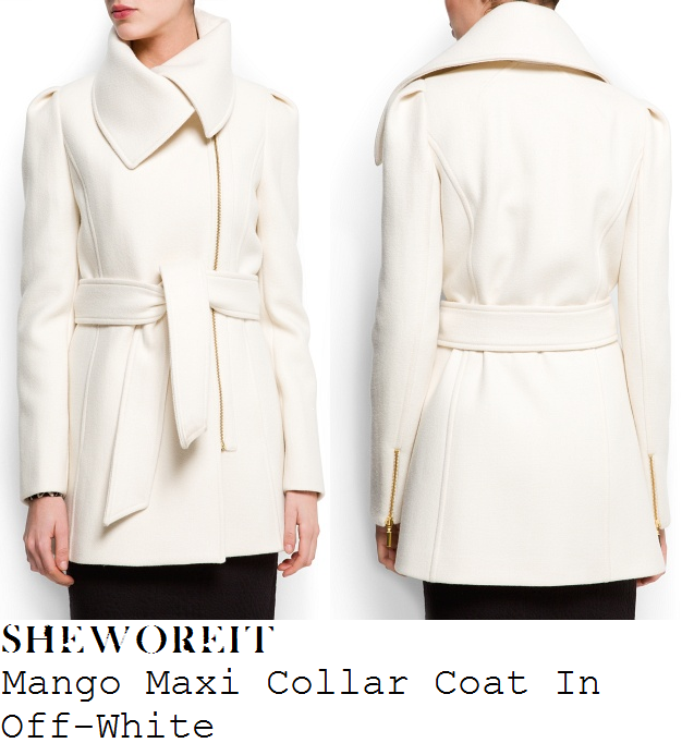 Off White Winter Coat | Down Coat