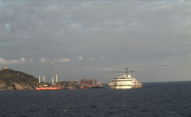 Costa Concordia 15 December 2013 - 2