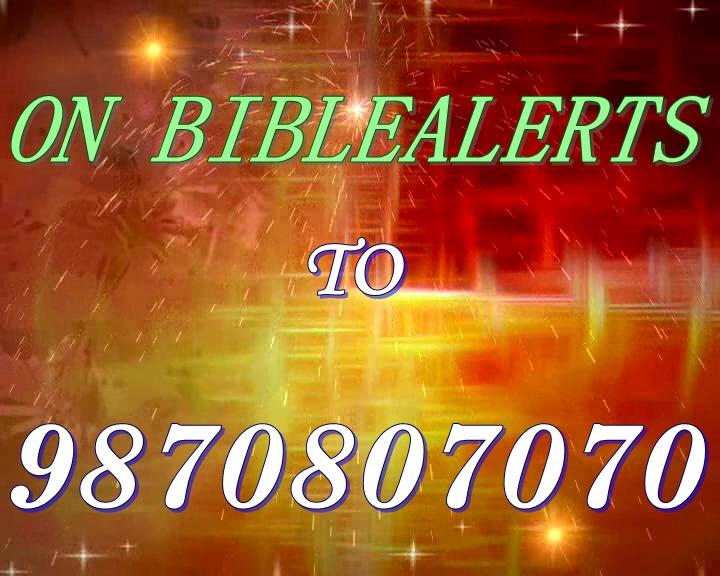 TELUGU,ENGLISH, TAMIL,BIBLE VERSE OF THE DAY  A  R STEVENSON