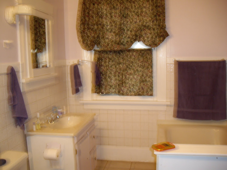 another blurry shot, of the bathroom