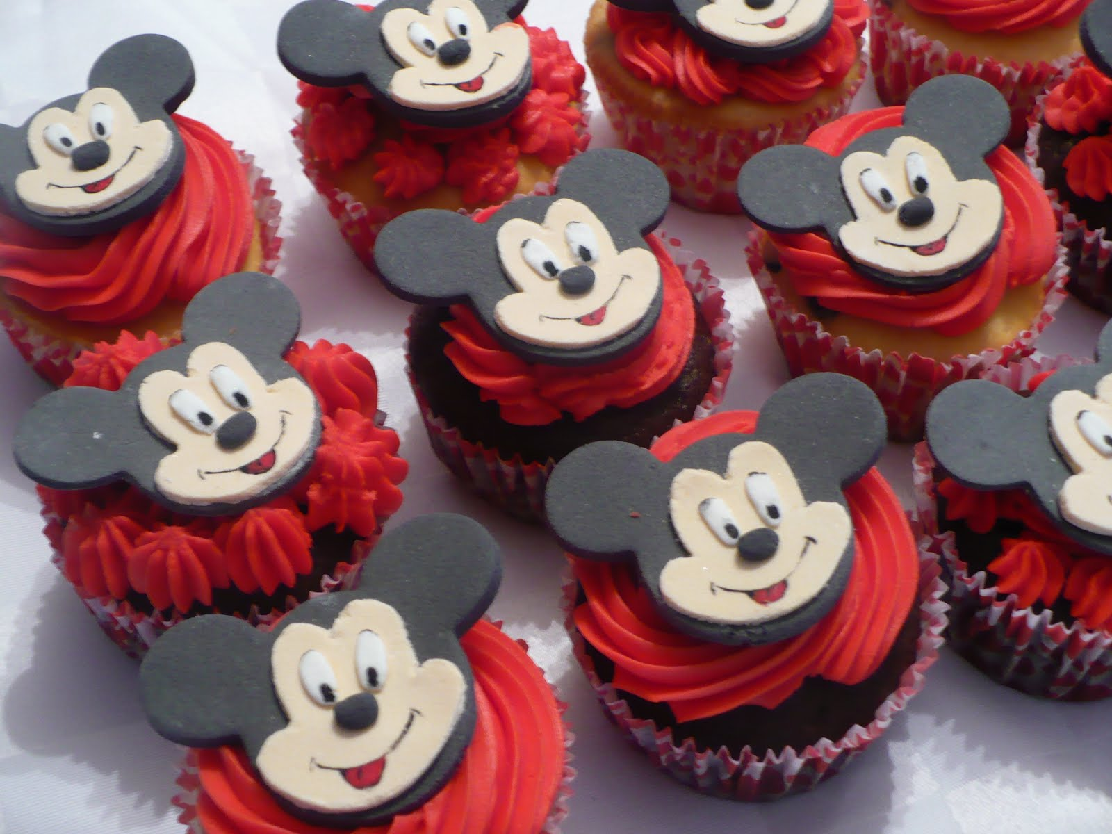 Party Cupcakes Cupcakes Especiales Mickey Mouse