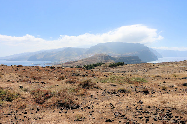 Wüste auf der Halbinsel Sao Lourenco, Madeira Ostküste