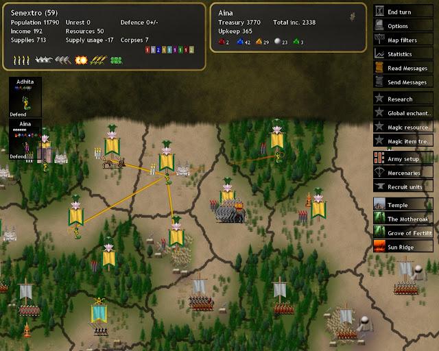 Dominions 4 - Red Provinces Connection Description