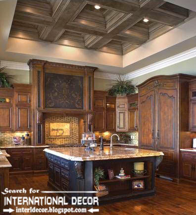 modern kitchen ceiling designs ideas lights, coffered ceiling for kitchen