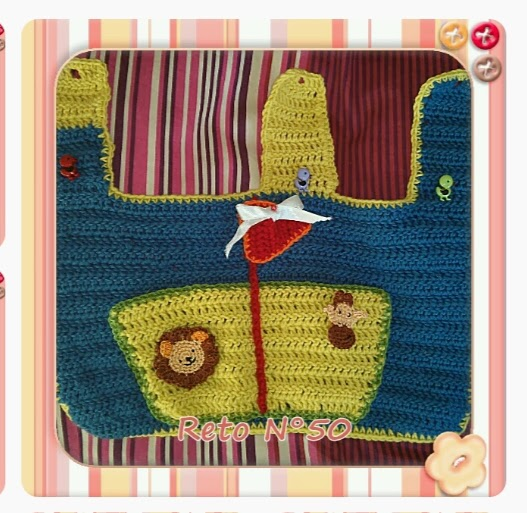 Hice Del Baño Color Amarillo:Crochet y demos: PAP ORGANIZADOR DE BAÑO
