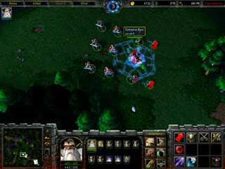 warcraft 3 archmage hero gaming videogame game