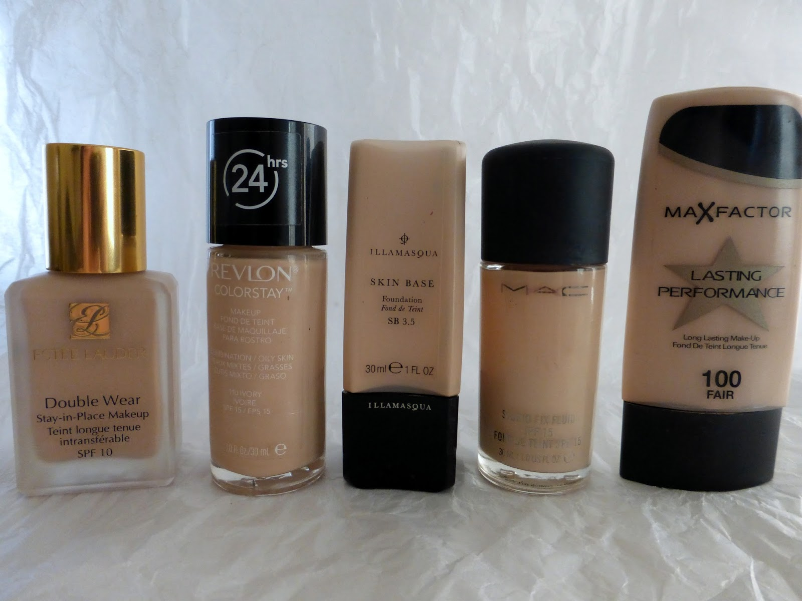 Full Coverage Foundations for Pale and Oily Skin