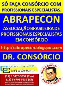 SÓ FAÇA CONSÓRCIO COM PROFISSIONAIS ESPECIALISTAS