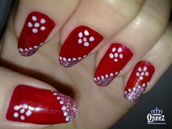 Love Red Nails Here Are Great Ideas For Nail Art In With Embellishments Mix Match Do Your Own Use These As And Make Style