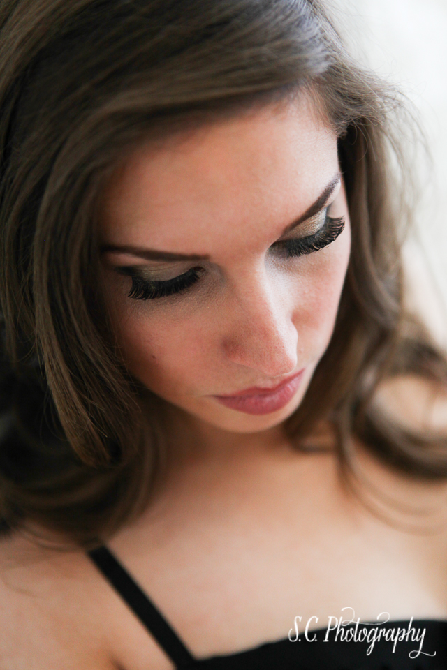 S.C. Photography, Boudoir Photography, false lashes