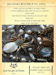 Relics Christmas Trunk Show 2012  at Juxtapsoition Home
