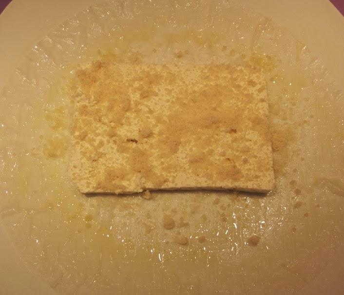 Croustillant de feta sans gluten à base de feuilles de riz