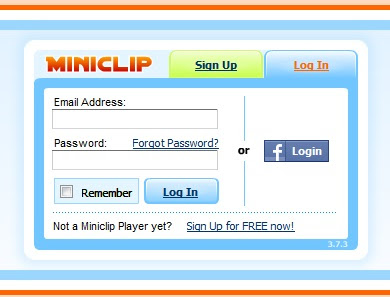 Miniclip login