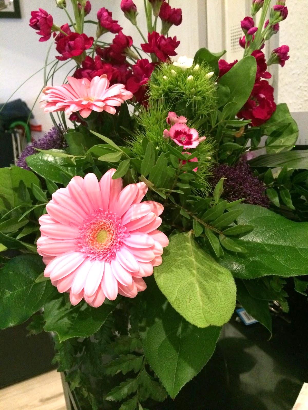 Omas Blumen gerettet