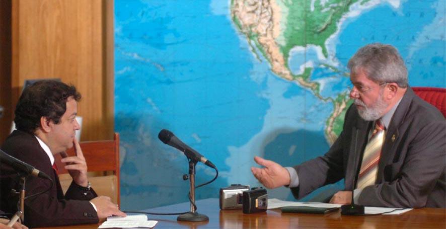 Entrevistando a Lula