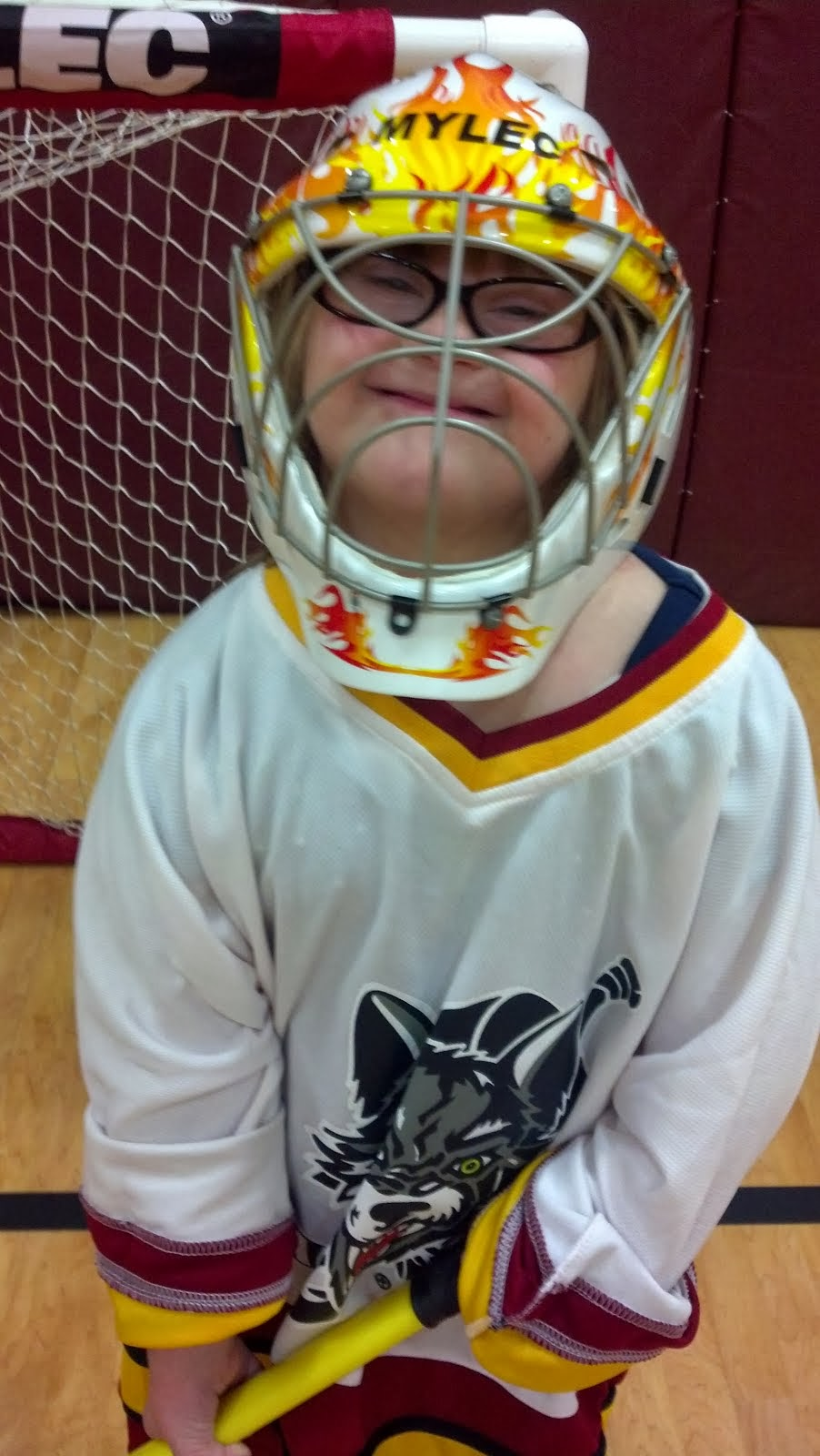 Wolves Floor Hockey!!