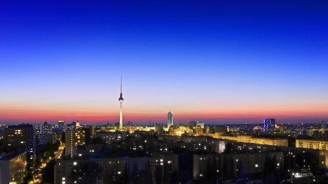 fuji, x100s, HDR, berlin,sunset