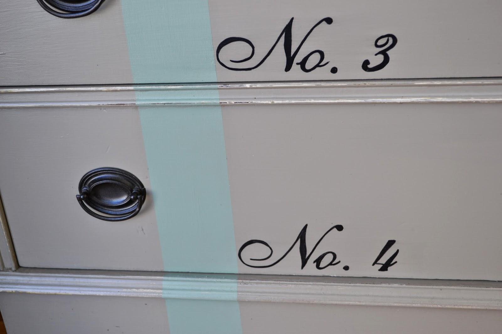 wild sparrow designs: French Linen Numbered Dresser - photo#25