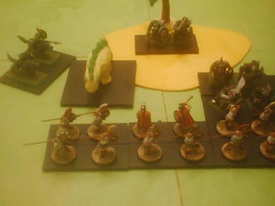 ancient greeks versus orcs & goblins
