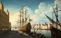 18th century ships, Big size wallpaper 2560x1600 pixels