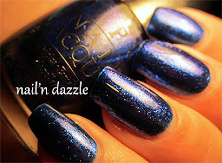 OPI, designer series, magic, blue, polish