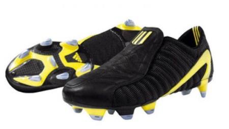Adidas F50 schwarz gelb 2004