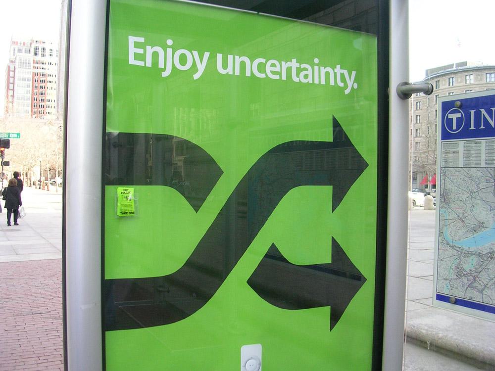Treading Softly: Uncertainty