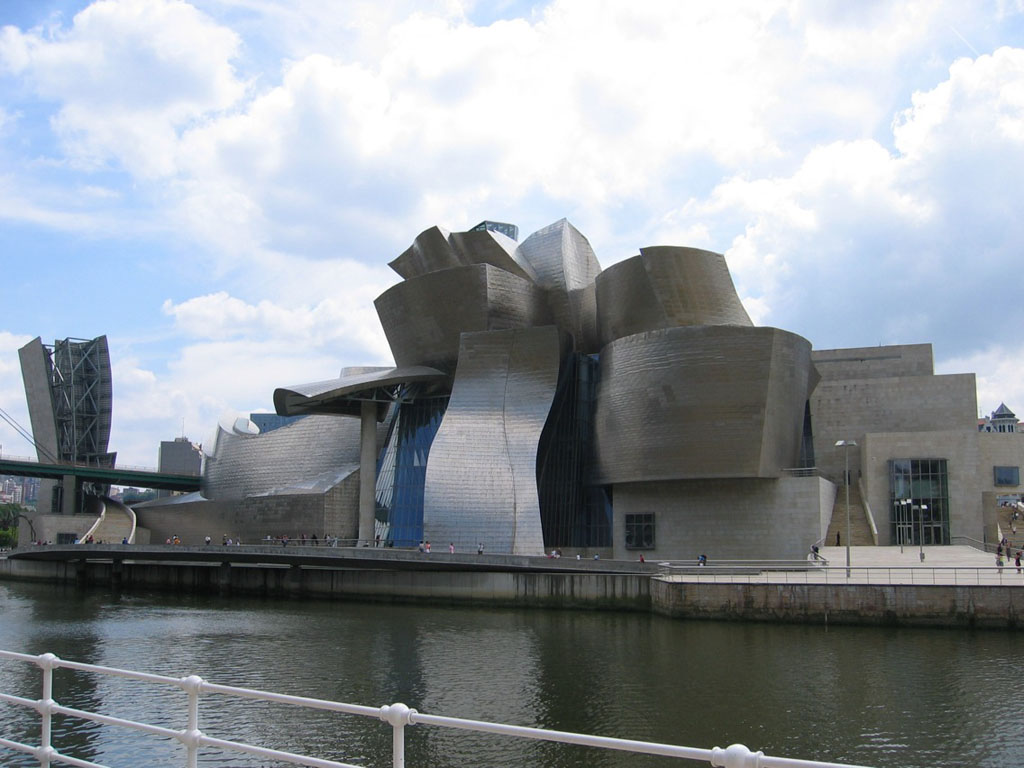 Guggenheim Museum - Bilbao, Spain ~ World Travel Destinations