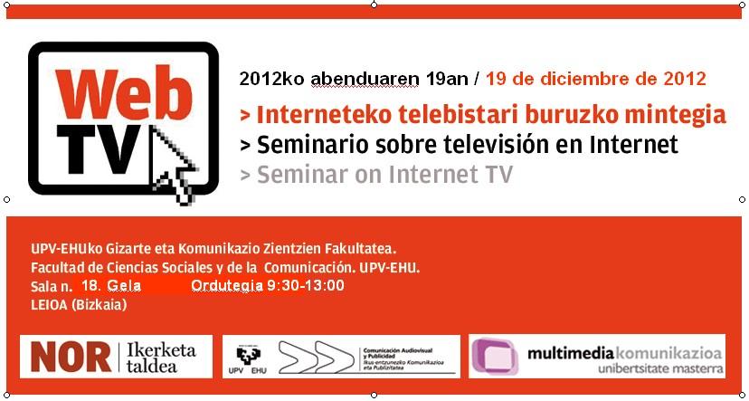Web TV: seminario