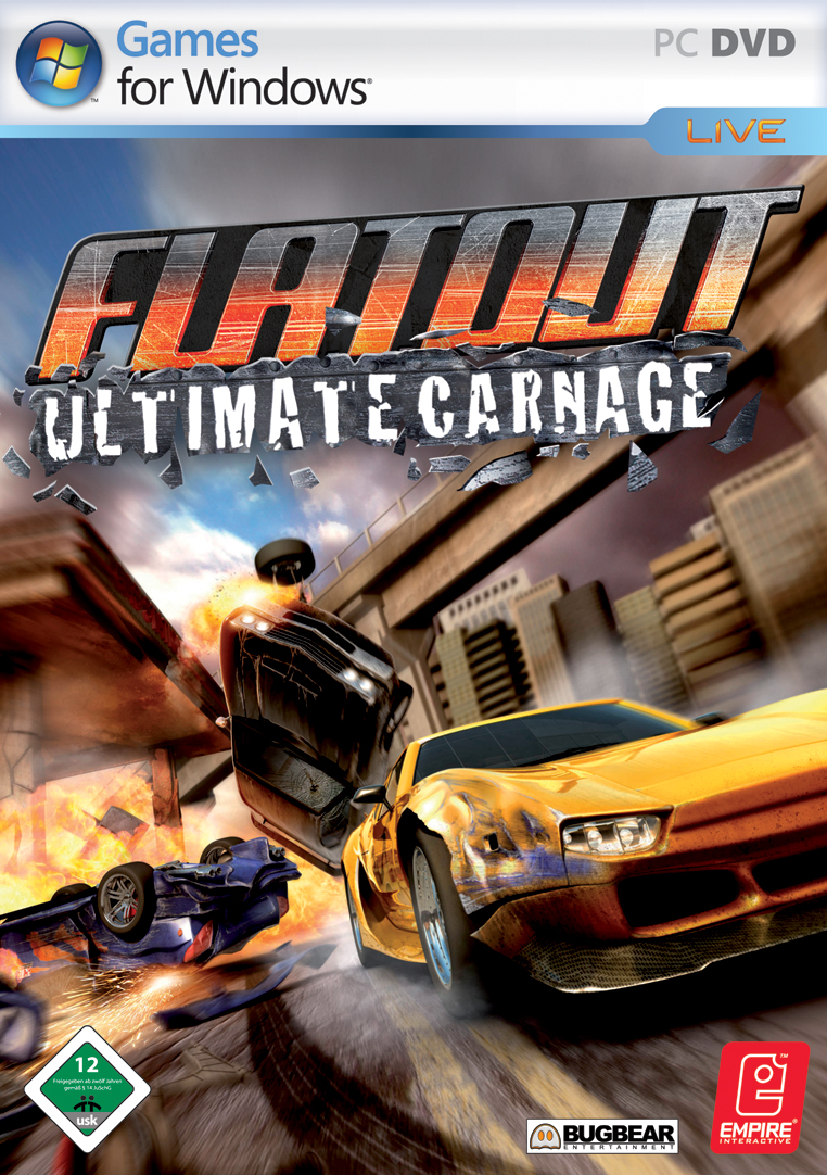 FlatOut Ultimate Carnage + FULL RIP + русификатор.