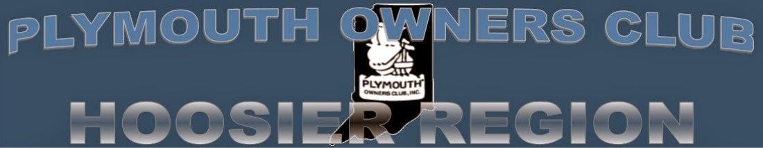 Plymouth Owners Club - Hoosier Region