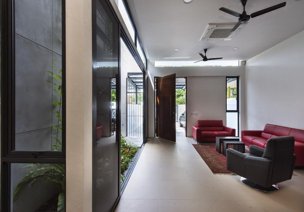 Rumah Minimalis di Lahan 6x21 Meter 5