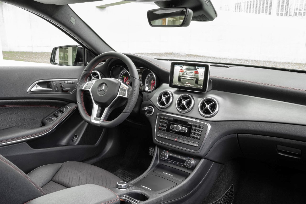 Interior del Mercedes GLA